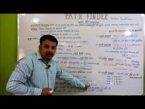 भारत की जनगणना (CENSUS OF INDIA) PART 1