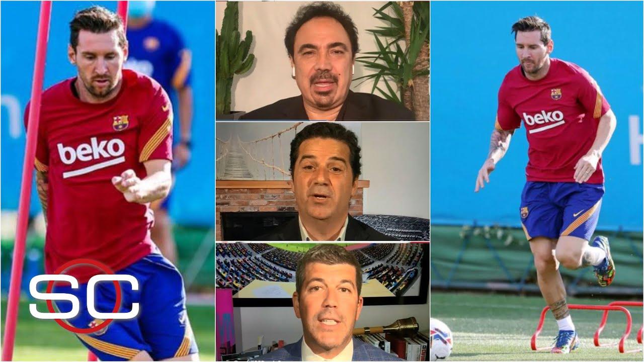 BARCELONA Messi de vuelta a los entrenamientos. 'Ha perdido a sus amigos': Agulla | SportsCenter