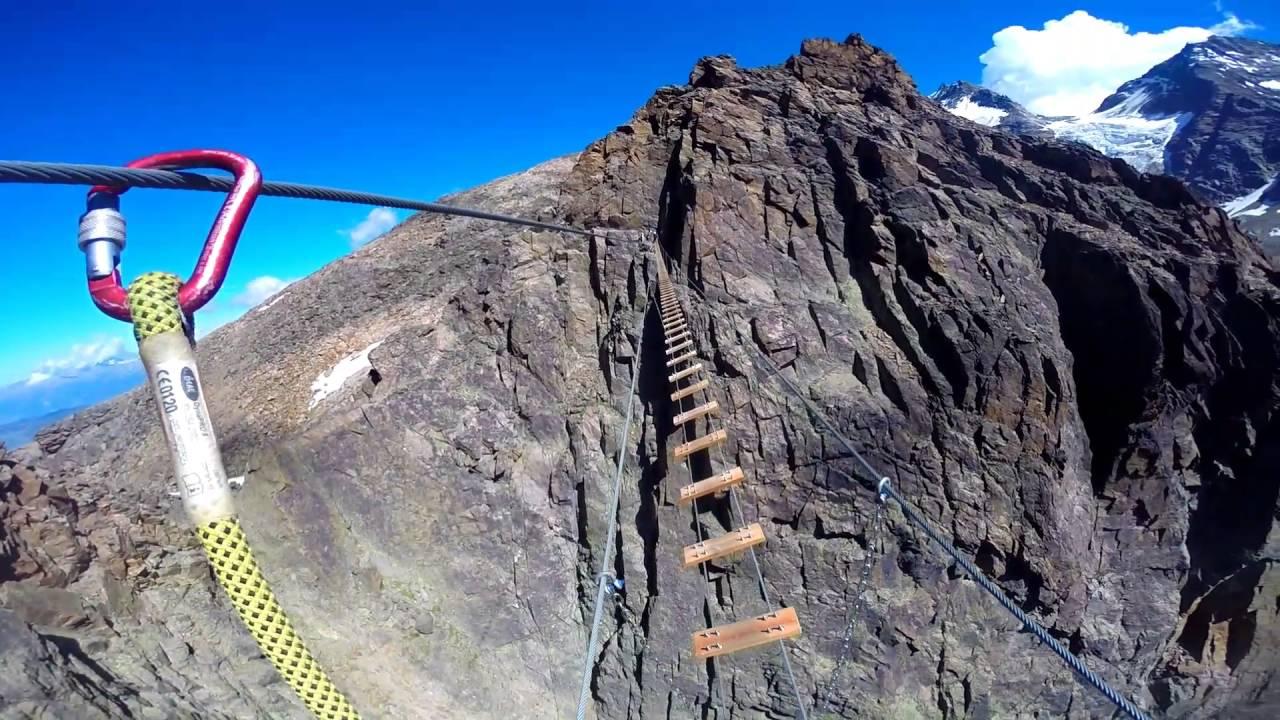 Klettersteig Jägihorn : Via ferrata jägihorn m klettersteig youtube