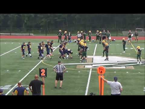 Littleton Tigers 7th Grade Football vs Nipmuc 9-17-17