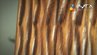 9. Патинирование при наружной отделке древесины