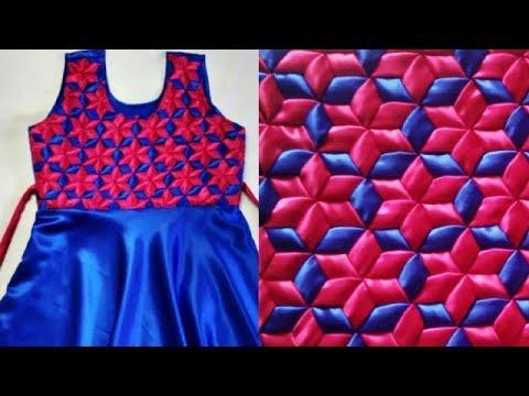 Weaving Knitting Pattern dress frock smoking origami latest design