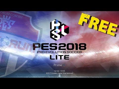 PES 2018 Lite - PES League e myClub FREE (c/ Patch de correção e DLC 2.0)