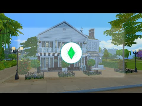 The Sims 4 - Speed Build - Stella's Restaurant -Part 1