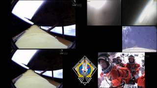 STS-135 Launch in Multiscreen