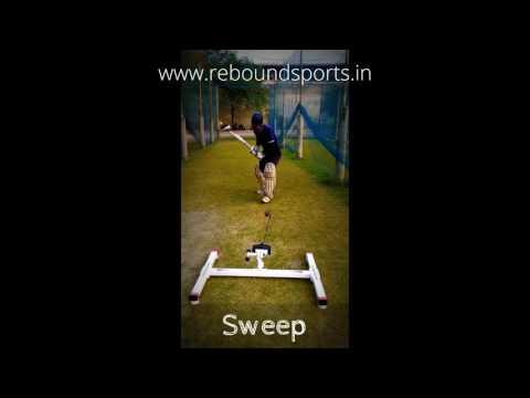 rebound Batting Machine : Play All Those Shots!