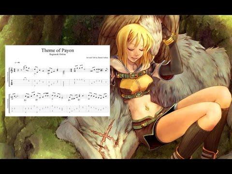 Ragnarok - Theme of Payon - Fingerstyle Guitar Tab