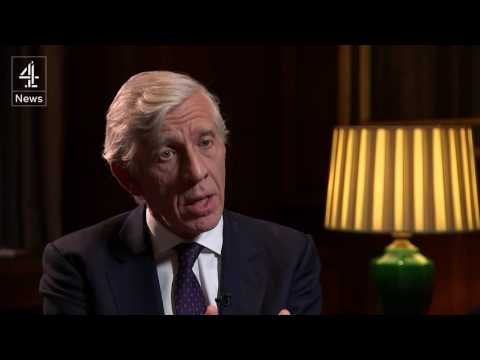 Chilcot inquiry: Jack Straw speaks to Jon Snow