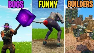 BUGS vs FUNNY vs BUILDERS - Fortnite Funny Moments 277 (Battle Royale)