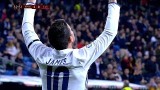 James Rodriguez vs Cultural Leonesa Home HD 1080i (30/11/2016) by JamesR10™