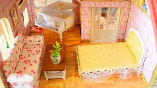 DIY Miniature Dollhouse furniture - PART2 - Easy Doll Crafts.Hi guys, today I will share with you how to make miniature furniture for