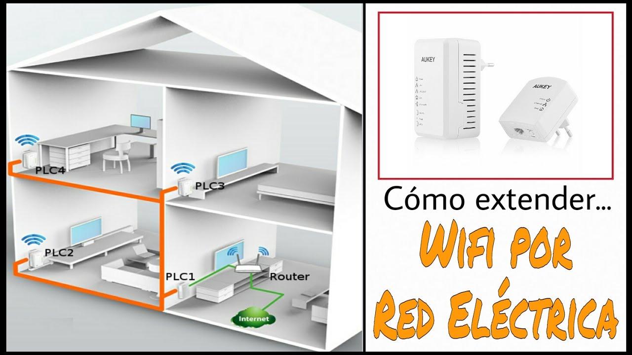 C mo extender tu red wifi por la l nea el ctrica plc for Plc wifi precios
