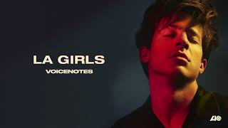 Video Charlie Puth - LA Girls [Official Audio] download MP3, 3GP, MP4, WEBM, AVI, FLV Agustus 2018