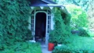 Walking through Haunted House in Owen Sound