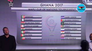 2017 WAFU Cup draw: Ghana to play Gambia in opener