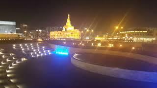 Short video of Doha at night June 2020