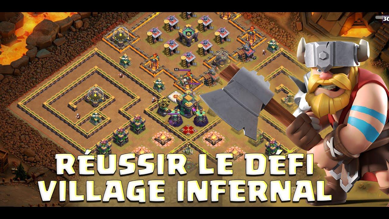 Réussir Facilement le Défi Village Infernal Clash of Clans