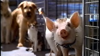 Babe - Pig in the City (1998) Teaser (VHS Capture)