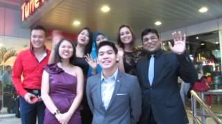 Selamat Hari Raya dari The Apprentice Asia @ Tune Hotels