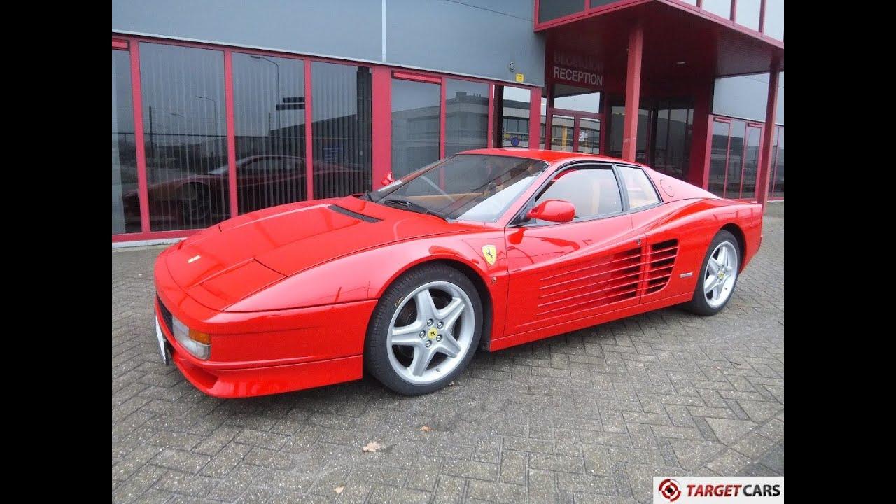 750711 Ferrari Testarossa 4 9l 390hp Coupe 04 90 Red 61278km Lhd Youtube