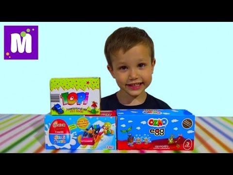 видео: Озмо ТОПИ сюрпризы с игрушками распаковка