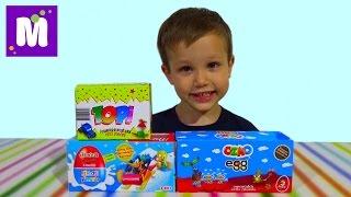 Озмо ТОПИ Юлкер сюрпризы с игрушками распаковка OZMO TOPI surprise eggs with toys unboxing
