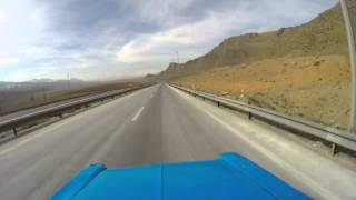 Nissan time lapse on road . . .