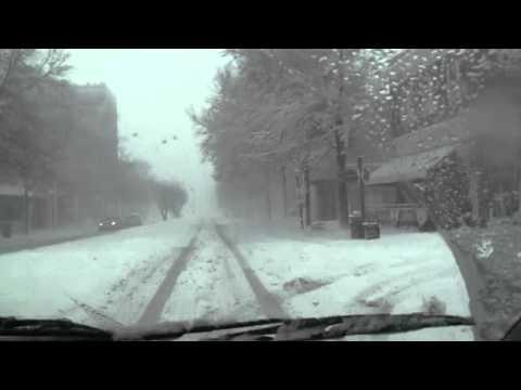 SNOWFALL PORTSMOUTH VIRGINIA  2010