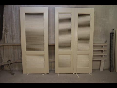 изготовление дверей для гардеробной комнаты