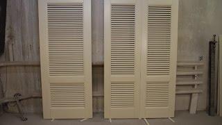 жалюзи .   дверь в гардеробную комнату. 1 часть(процесс изготовления жалюзийной двери . некоторые хитрости JOIN VSP GROUP PARTNER PROGRAM: https://youpartnerwsp.com/ru/join?24360., 2015-06-06T18:31:12.000Z)