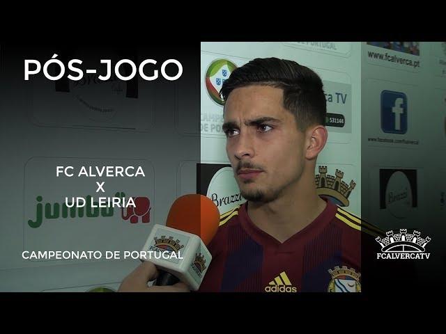 FC Alverca vs UD Leiria - Reações ao jogo