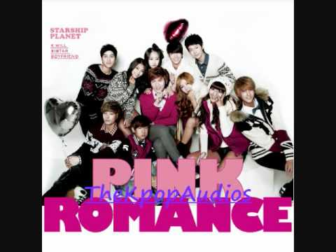 Boyfriend, K, Sistar- 핑크빛 로맨스 (Pink Romance)