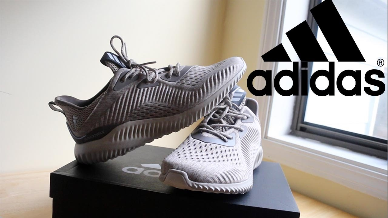 32d440d9f2bbb Adidas Alphabounce EM Unboxing and Review (NEW COLOR WAYS) - YouTube
