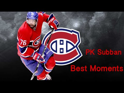 Pk Subban | Career Highligts| As a Montreal Canadien