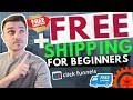 ClickFunnels eCommerce Free Plus Shipping Funnel Template For Beginners + Setup   Dropshipping