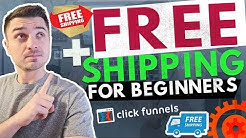 ClickFunnels eCommerce Free Plus Shipping Funnel Template For Beginners + Setup | Dropshipping
