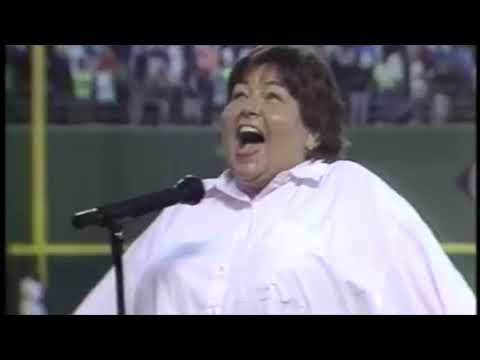 Roseanne Barr - United States National Anthem - The Star Spangled Banner