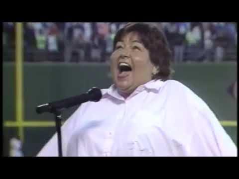 Roseanne Barr - United States National Anthem - The Star Spangled Banner