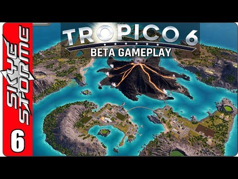 TROPICO 6 BETA GAMEPLAY ◀ Acts of God Mission - Part 2 ▶