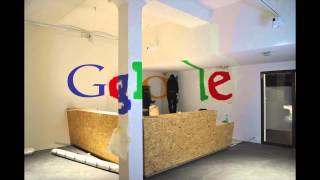 Google Logo, Reception Zurich
