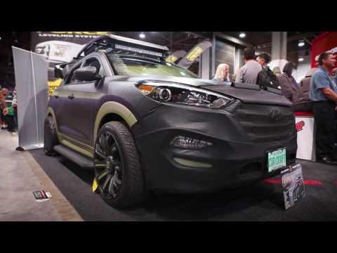 Trail Worthy Hyundai Tucson SEMA 2016 ARIES Automotive FearOne