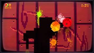 Fruit Ninja Kinect: 8-bit Cartridge