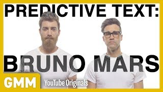 "Is our brand new Bruno Mars song made using predicitive text as catchy as ""Uptown Funk?"" GMM #1287.2 Watch Part 3: https://youtu.be/9Zj5TUsm4mA 