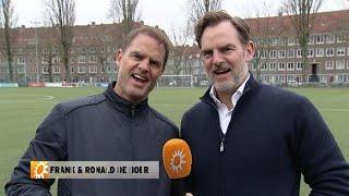 Frank en Ronald de Boer bedanken Edwin Evers - RTL BOULEVARD