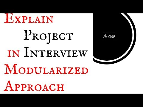 How to explain project in interview for experienced|How to explain project in interview for freshers