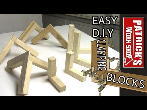 How To Make QUICK an EASY DIY CLAMPING BLOCKS