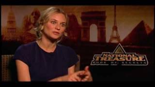 National Treasure: Book of Secrets Cast Interviews