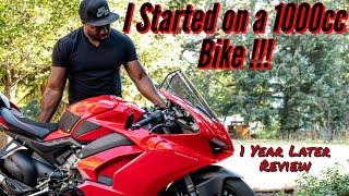 I purchased a Ducati |First Bike| 1 Year Later