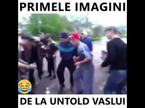 PRIMELE IMAGINI DE LA UNTOLD VASLUI 😂😂