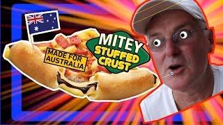 Is Pizza Hut s Australia Day Vegemite Stuffed Crust Pizza Fair Dinkum? Taste Test Review
